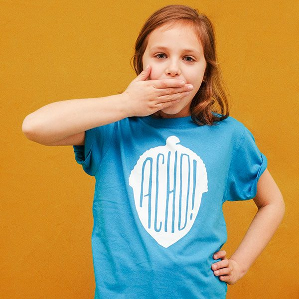 Camiseta Acho Azul Niño