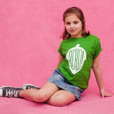 Camiseta Acho Verde Niño