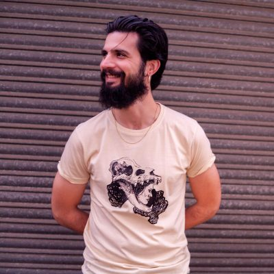camiseta chico memento mori aliseda
