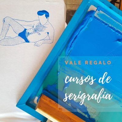 Cursos de serigrafía Vale regalo