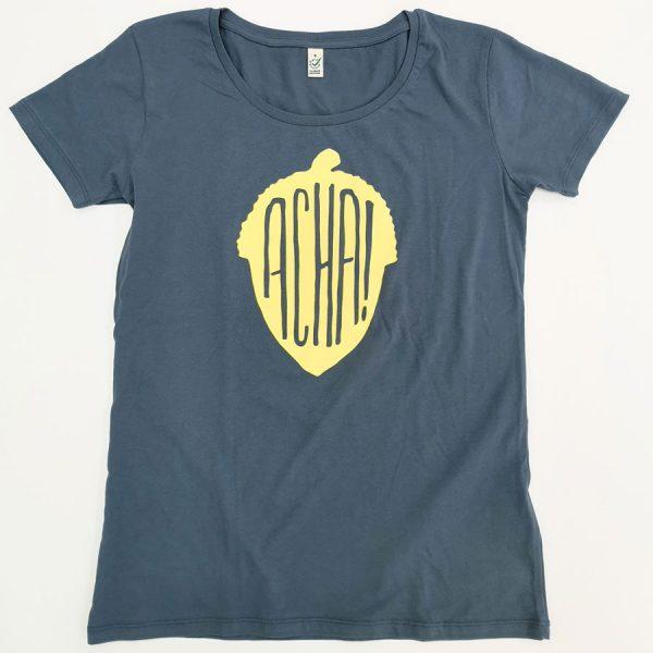 Acha Camiseta Gris Comercio Justo