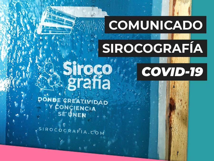 coronavirus sirocografía
